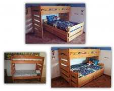 Ruff Rider Series Bunk Bed