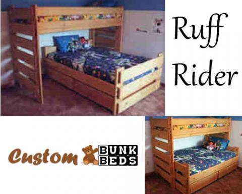 Ruff Rider Convertible Bunk Bed
