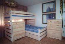 Royal L-Shape Bunk Bed